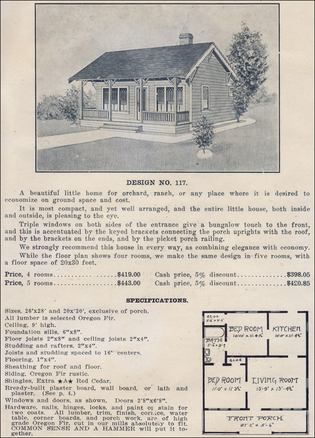 1915 Ready Built House Company - No. 117