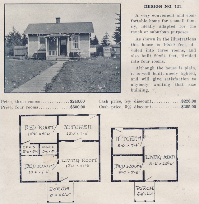 1915 Ready Built House Company - No. 121