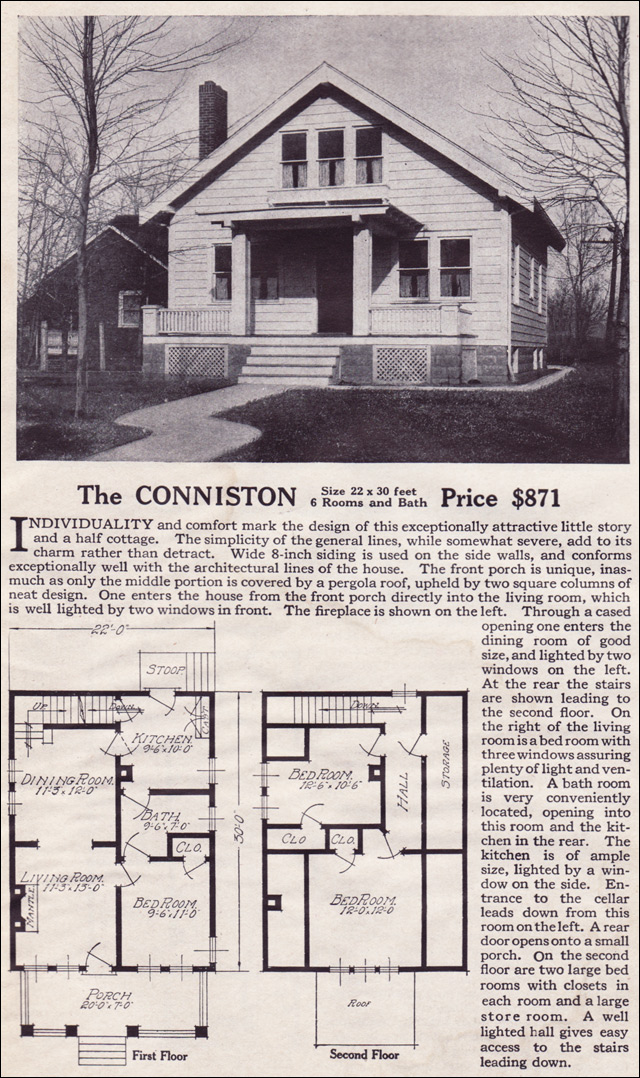 1916 Lewis-Built Homes - The Conniston