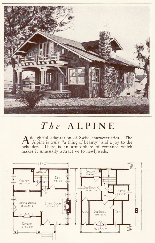 1922 Lewis Homes of Character - The Alpine