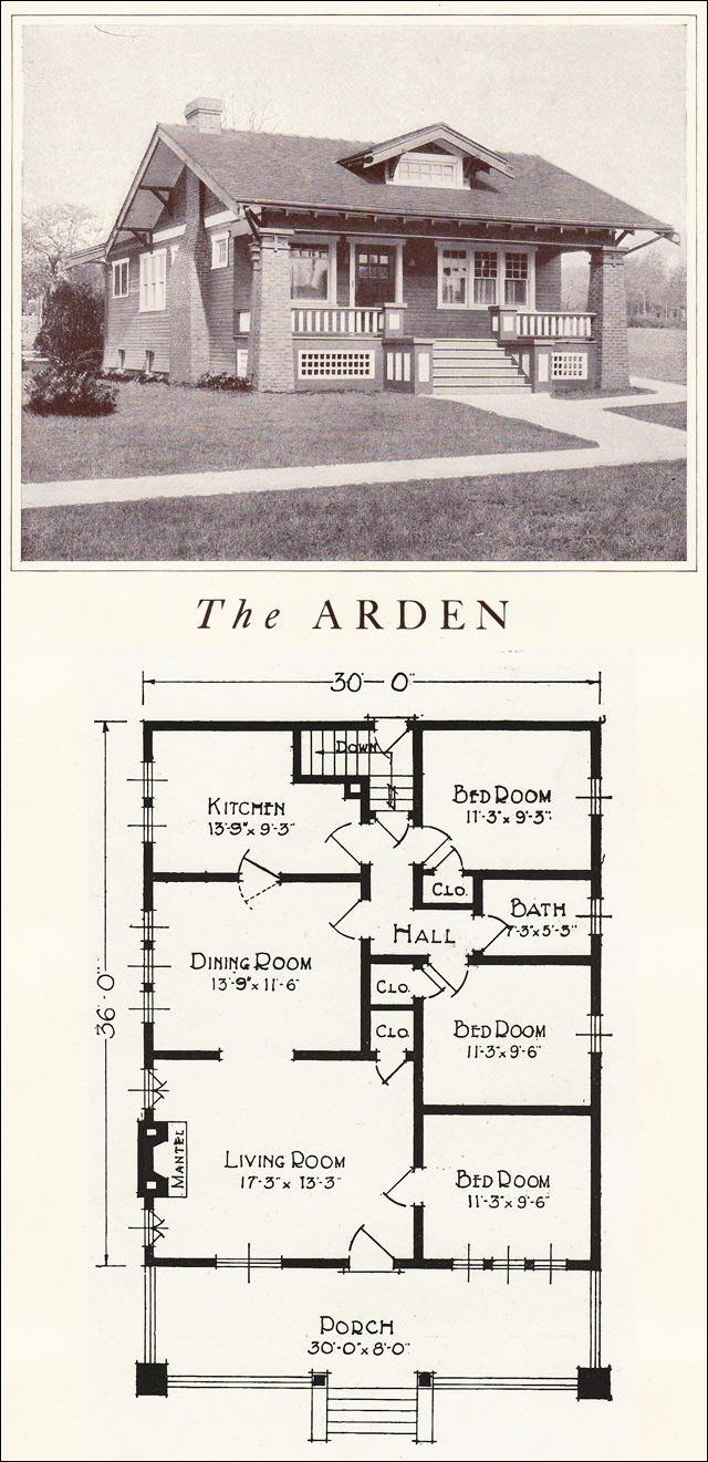 1922 Lewis Homes of Character - The Arden