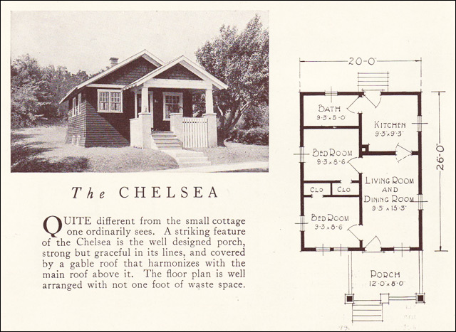 1922 Lewis Homes of Character - The Chelsea