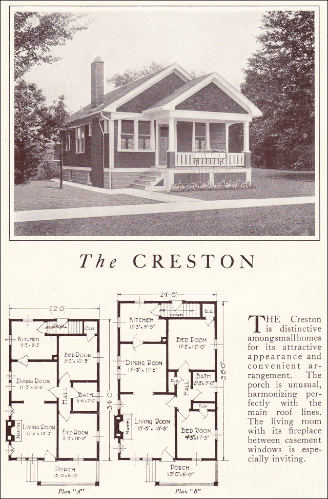 1922 Lewis Homes of Character - The Creston