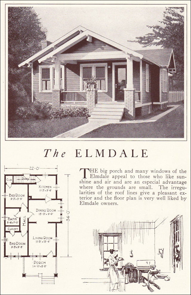 1922 Lewis Homes of Character - The Elmdale