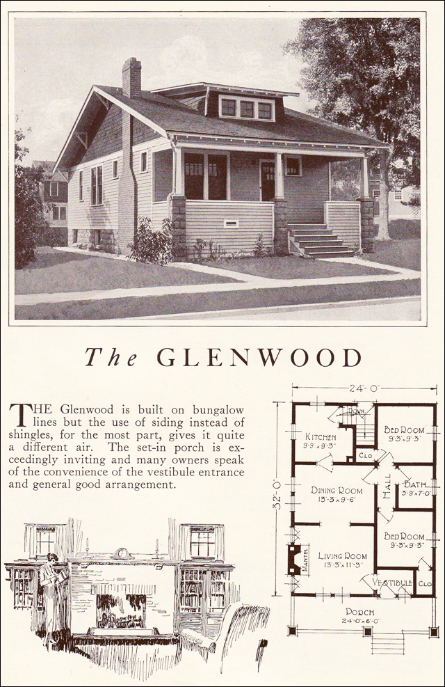 1922 Lewis Homes of Character - The Glenwood