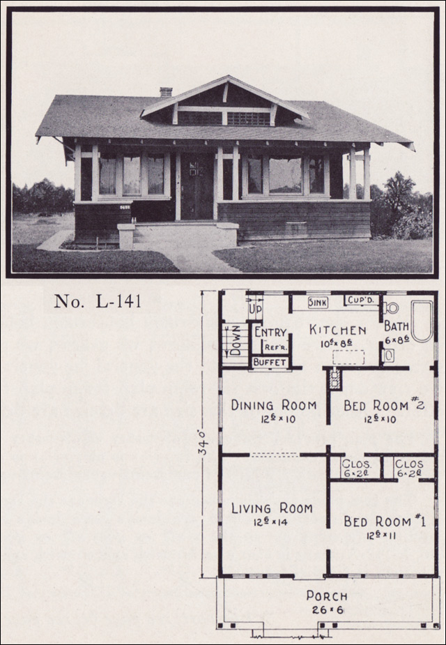 1922 Stillwell - Plan No. L-141